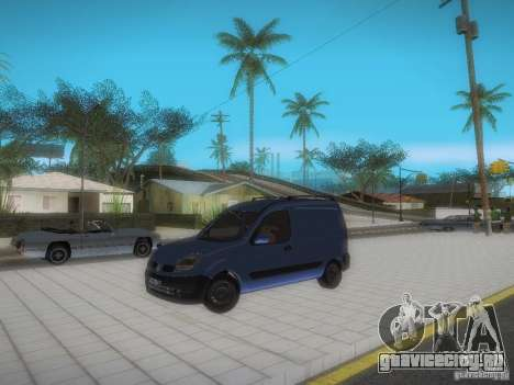 Renault Kangoo II Stock для GTA San Andreas вид сбоку