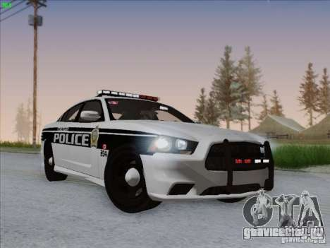 Dodge Charger 2012 Police для GTA San Andreas