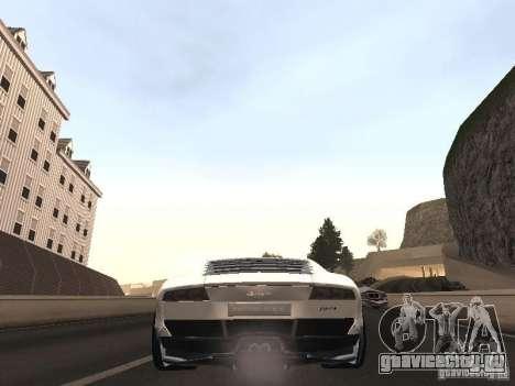 Lamborghini Miura LP670 для GTA San Andreas вид сзади слева