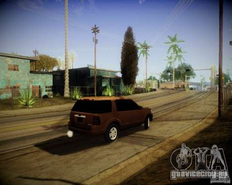 Ford Explorer для GTA San Andreas вид справа