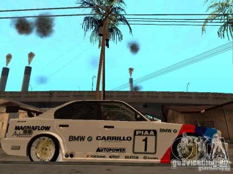 BMW E34 M5 - DTM для GTA San Andreas вид справа