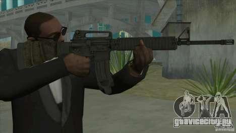 M16A4 from BF3 для GTA San Andreas второй скриншот