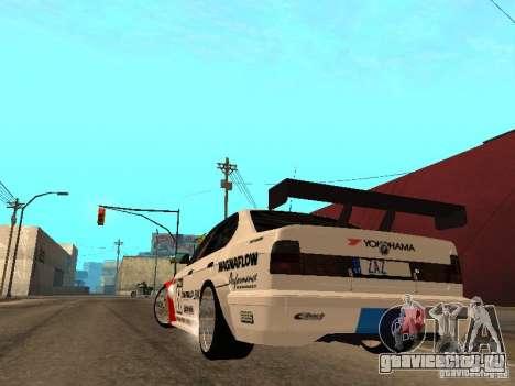 BMW E34 M5 - DTM для GTA San Andreas вид сзади слева