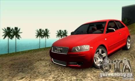 Audi A3 Tunable для GTA San Andreas