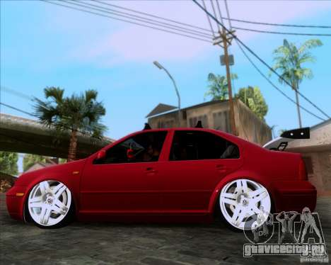 Volkswagen Jetta 2005 для GTA San Andreas вид слева