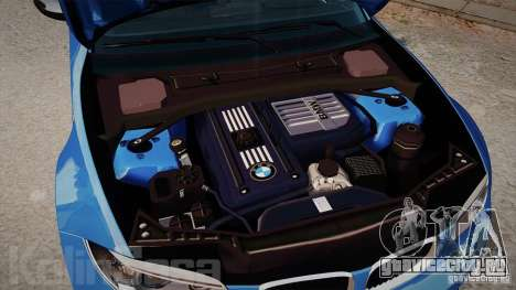 BMW 1M 2011 Carbon для GTA 4 вид изнутри
