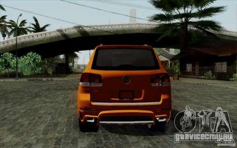 Volkswagen Touareg R50 Light для GTA San Andreas вид справа