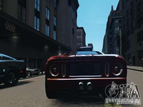 Ford GT для GTA 4 вид сзади слева