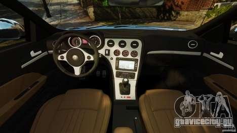 Alfa Romeo 159 TI V6 JTS для GTA 4 вид сзади