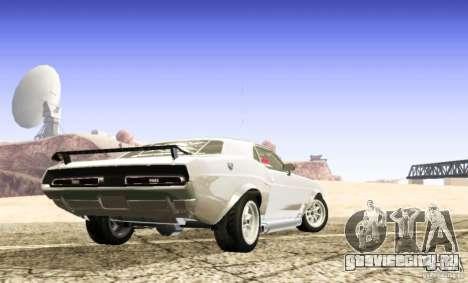 Dodge Charger 1969 SpeedHunters для GTA San Andreas вид слева