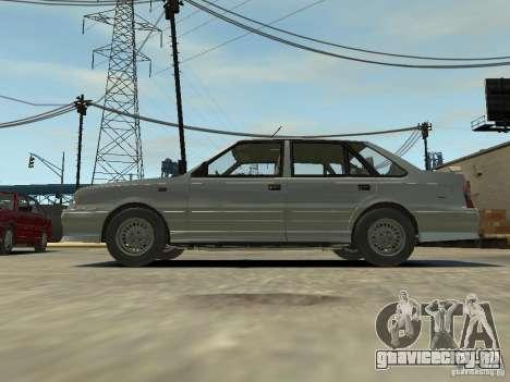 FSO Polonez Atu для GTA 4 вид сзади