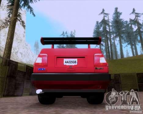 Fiat Tempra 1998 Tuning для GTA San Andreas вид сзади