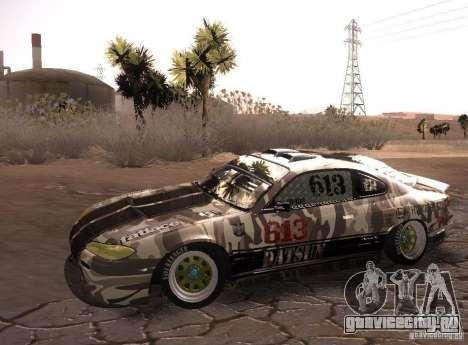 Nissan Silvia S15 Volklinger для GTA San Andreas вид сзади слева