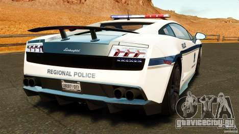 Lamborghini Gallardo LP570-4 Superleggera 2011 для GTA 4 вид сзади слева
