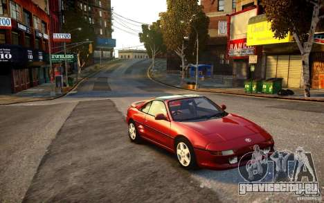 Toyota MR2 GT для GTA 4