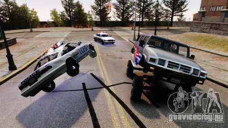Monster Patriot для GTA 4 третий скриншот