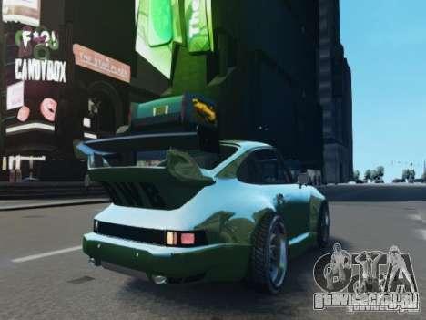 Porsche 911 Turbo RWB Pandora One Beta для GTA 4 вид сзади