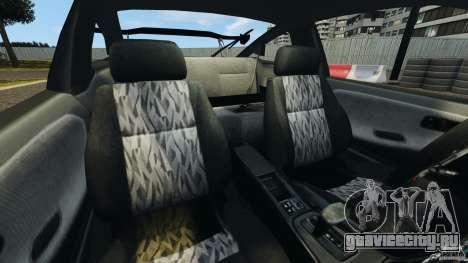 Nissan 240SX Kawabata Drift для GTA 4 вид изнутри