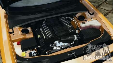 Dodge Challenger SRT8 392 2012 [EPM] для GTA 4 вид сверху