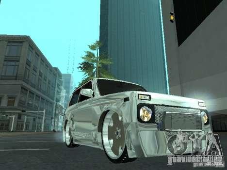 ВАЗ 2121 Final для GTA San Andreas вид сзади слева