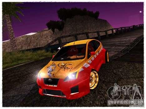 Ford Focus ST Calibri-Ace для GTA San Andreas