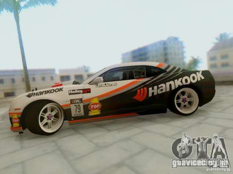 Chevrolet Camaro Hankook Tire для GTA San Andreas вид справа