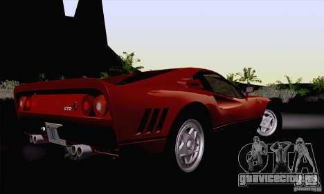 Ferrari 288 GTO 1984 для GTA San Andreas вид слева
