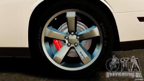 Dodge Challenger SRT8 392 2012 ACR [EPM] для GTA 4 вид снизу