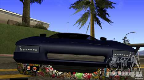 Infernus v3 by ZveR для GTA San Andreas вид справа