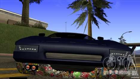 Infernus v3 by ZveR для GTA San Andreas вид справа