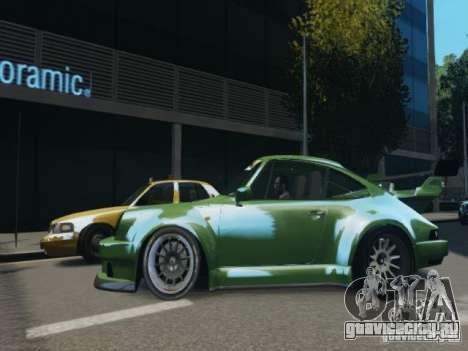 Porsche 911 Turbo RWB Pandora One Beta для GTA 4 вид слева