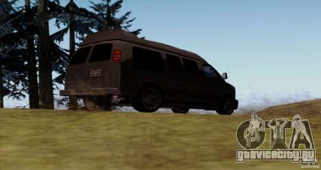 GMC Savana AWD для GTA San Andreas вид справа