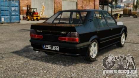 Renault 19 RL для GTA 4 вид сзади слева