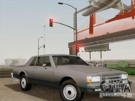 Chevrolet Caprice 1986 для GTA San Andreas колёса