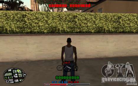 Cleo HUD by Cameron Rosewood V1.0 для GTA San Andreas