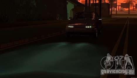 ВАЗ 2110 Сток для GTA San Andreas вид сверху
