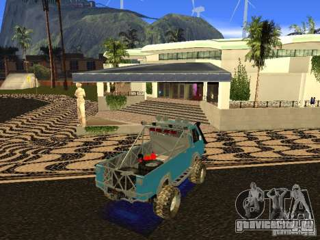 РАФ 2203 для GTA San Andreas вид сзади слева