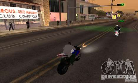 No wanted v1 для GTA San Andreas третий скриншот