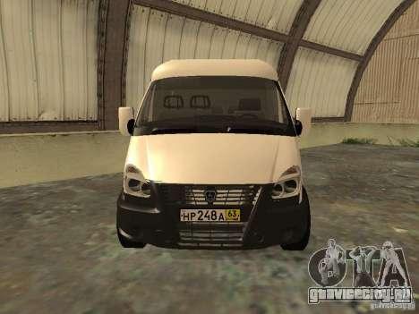 ГАЗ 2752 Соболь Бизнес для GTA San Andreas вид справа