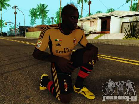 Марио Балотелли v3 для GTA San Andreas пятый скриншот