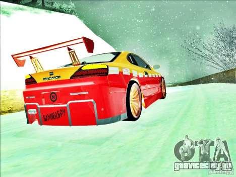 Nissan Silvia S15 Calibri-Ace для GTA San Andreas вид изнутри