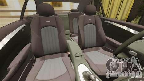 Mercedes-Benz CLK 55 AMG для GTA 4 вид сбоку