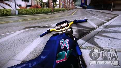 Yamaha DT 180 для GTA San Andreas вид справа