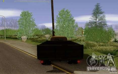 ГАЗ 51 для GTA San Andreas вид сзади слева