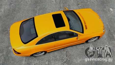 Mercedes-Benz CLK 55 AMG для GTA 4 вид справа