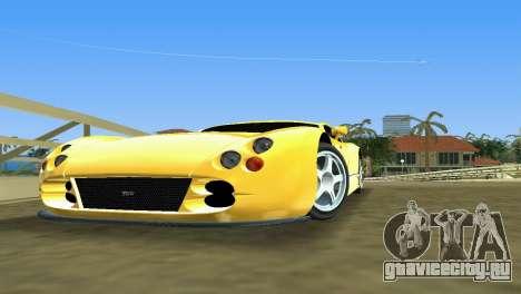 TVR Cerbera Speed 12 для GTA Vice City вид слева