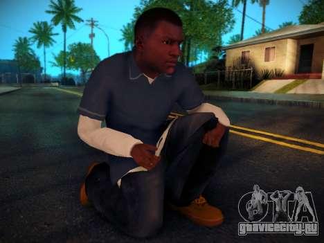 Франклин для GTA San Andreas пятый скриншот