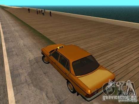Mercedes-Benz 240D Taxi для GTA San Andreas вид слева