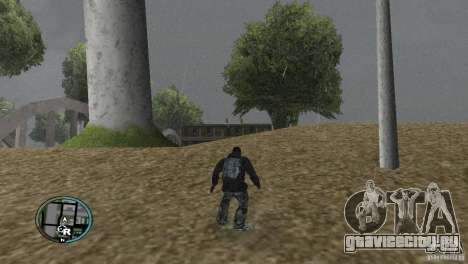 GTAIV HUD Для широких экранов (16:9) v2 для GTA San Andreas четвёртый скриншот