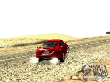 Audi TT-RS Coupe 2011 v.2.0 для GTA San Andreas вид сзади